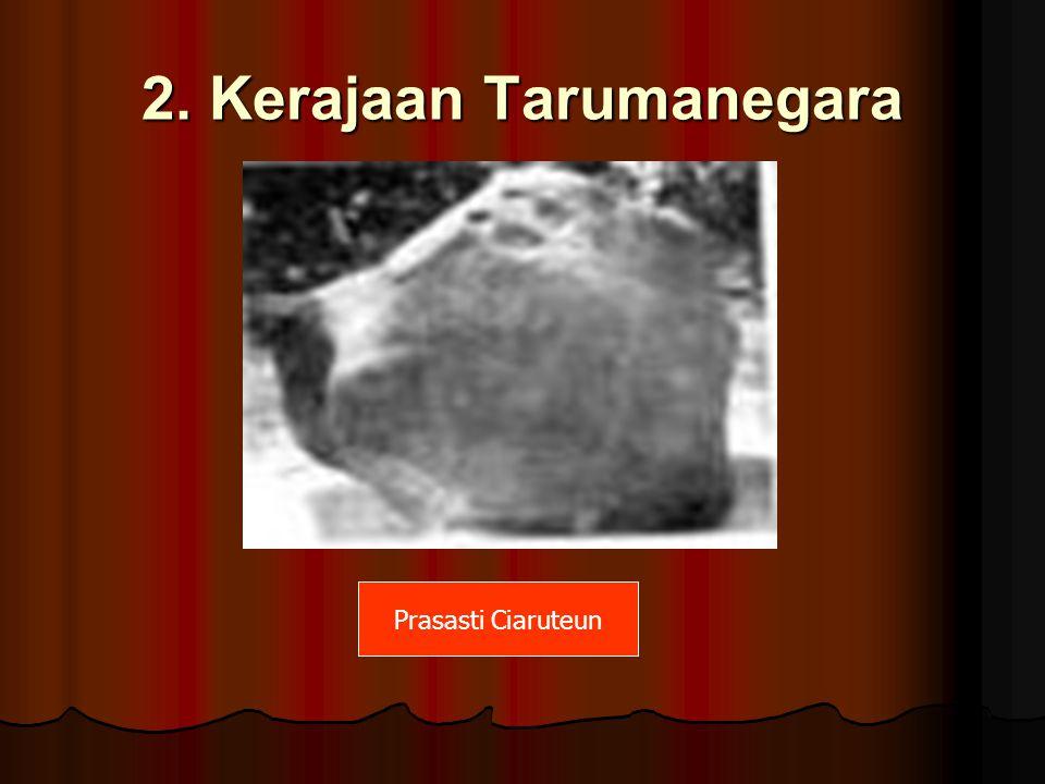 2. Kerajaan Tarumanegara Prasasti Ciaruteun