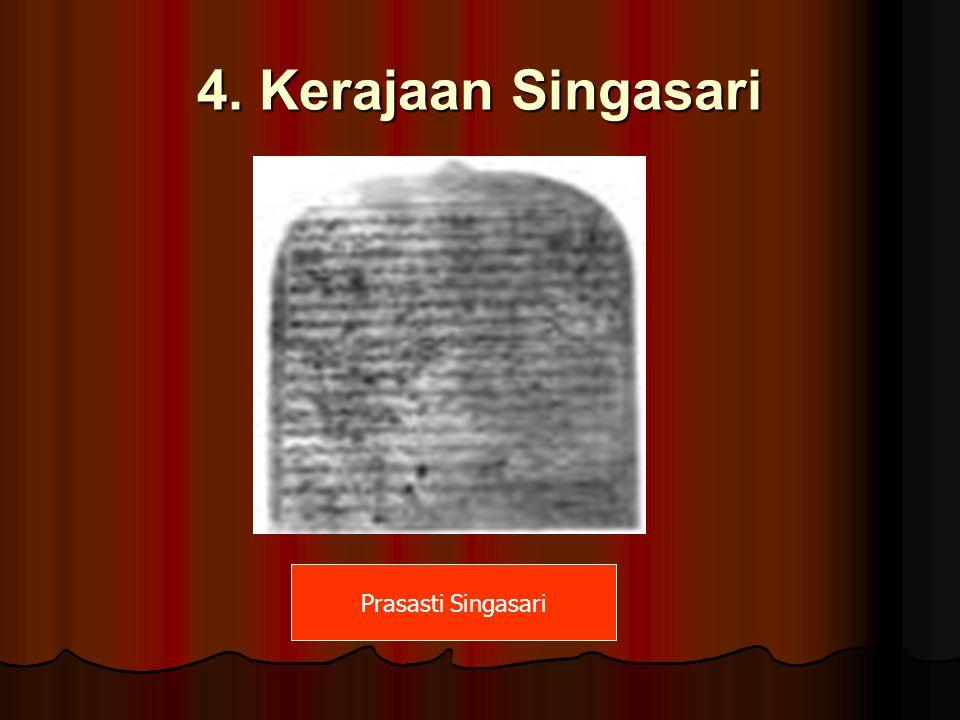 4. Kerajaan Singasari Prasasti Singasari