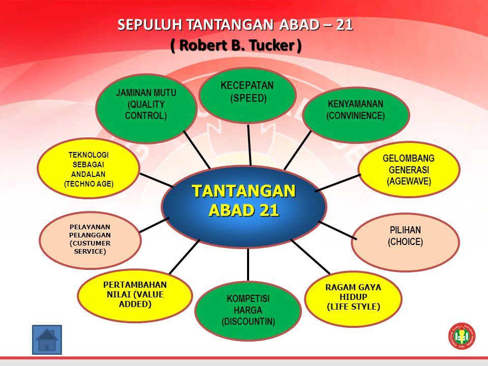 SEPULUH TANTANGAN ABAD – 21 ( Robert B.