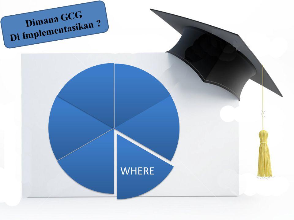 WHERE Dimana GCG Di Implementasikan ?