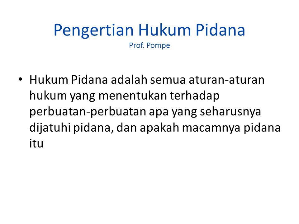 SUMBER-SUMBER HUKUM PIDANA DI INDONESIA KUHP (beserta UU yang mengubah & menambahnya) PerUU Pidana (perUU Hk Pidana ?) di luar KUHP Ketentuan Pidana dalam Peraturan perundang-undangan non-hukum pidana