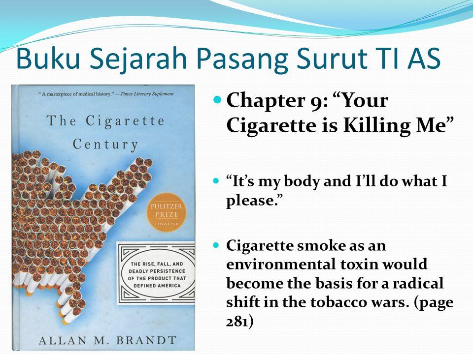 Masalah Rokok di Indonesia Rokok merupakan masalah kesehatan masyarakat amat serius di Indonesia: Ada sekitar 80 juta perokok aktif, sekitar 70 persen pria dewasa di Indonesia adalah perokok aktif.; menimbulkan 400.000 kematian/tahun, 25.000 di antaranya perokok pasif.