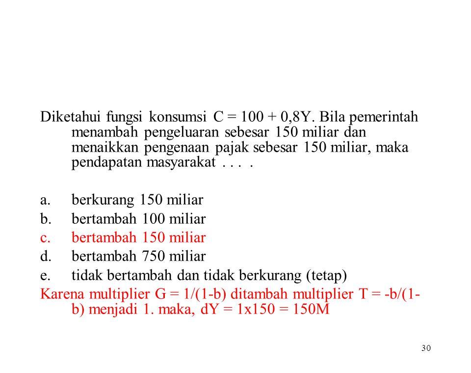 29 Sebelum bekerja pengeluaran Daniel sebesar Rp 1.500.000,00 sebulan. Setelah bekerja dengan penghasilan sebesar Rp 5.000.000,00 pengeluarannya sebes