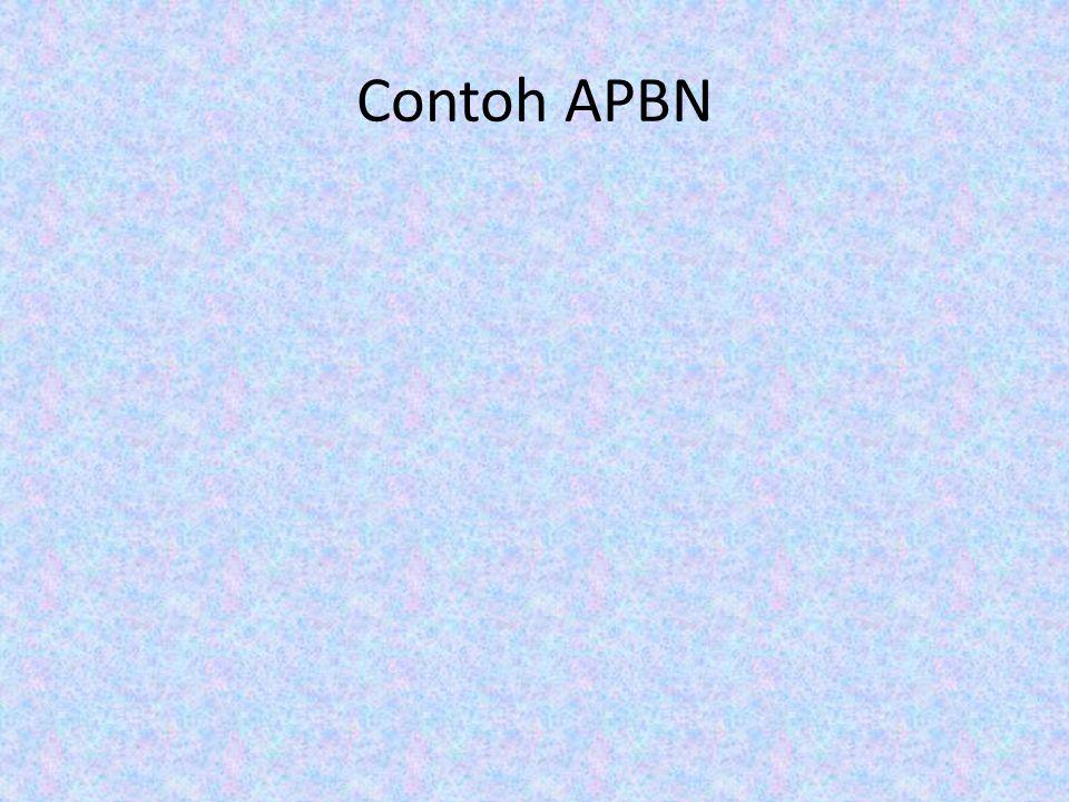 Contoh APBN