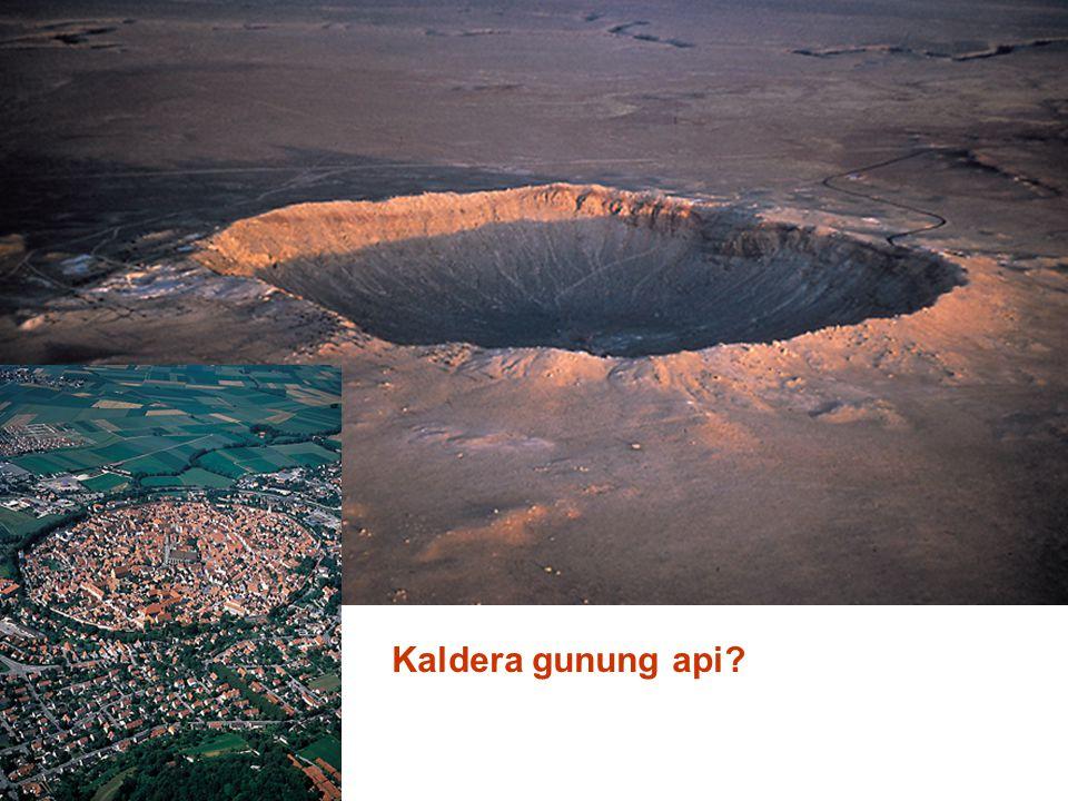 Kaldera gunung api?