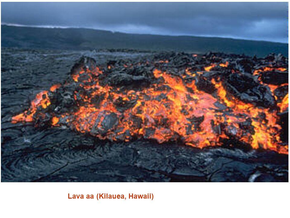 Lava aa (Kilauea, Hawaii)