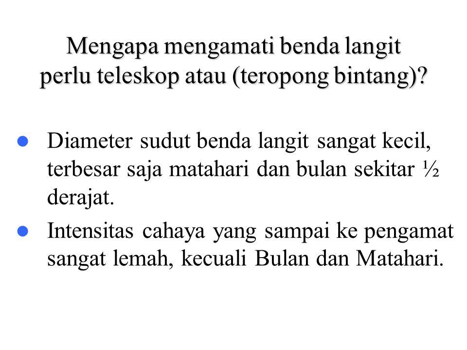 BINTANG GANDA TERSELEKSI Nama Bintang Separasi R.A.