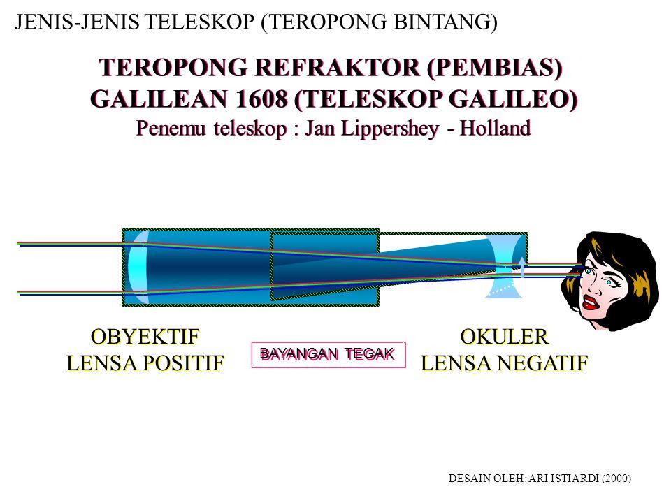 TELESKOP / TEROPONG 1.Kegunaan: a.