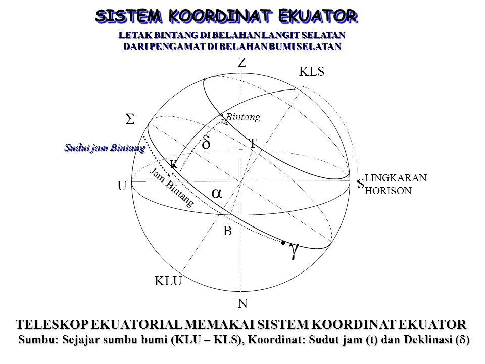 Contoh Penggunaan: Jika suatu tempat memiliki variasi magnetik 1 0 T (timur), maka arah utara sejati berada pada jarak 1 o ke arah barat dari titik Utara kompas.