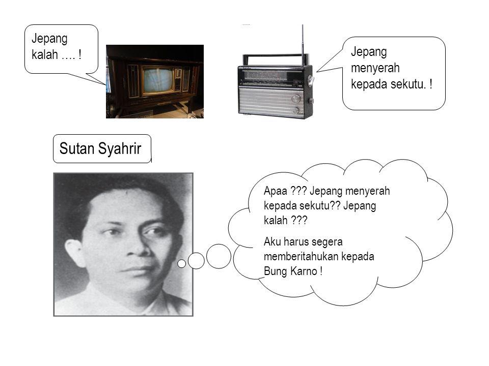 TOKOH-TOKOH PROKLAMASI Fatmawati Menjahit bendera pusaka Fatmawati Menjahit bendera pusaka B.M Diah Memperbanyak teks proklamasi dan menyiarkannya ke seluruh dunia B.M Diah Memperbanyak teks proklamasi dan menyiarkannya ke seluruh dunia