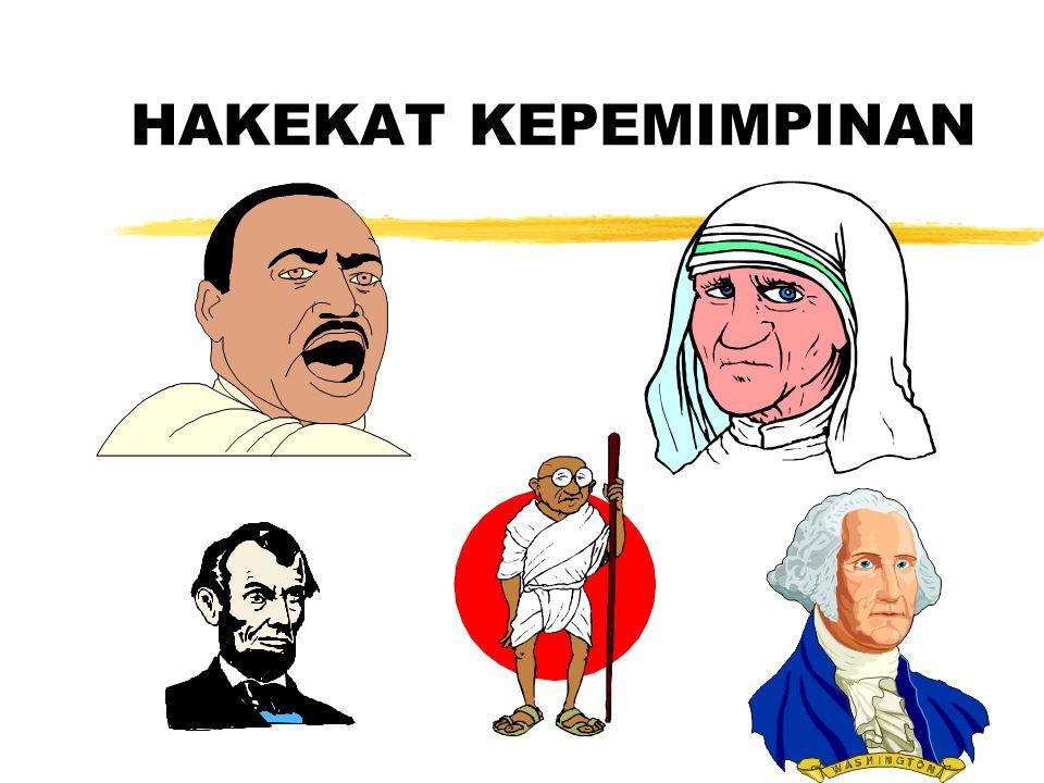 HAKEKAT KEPEMIMPINAN