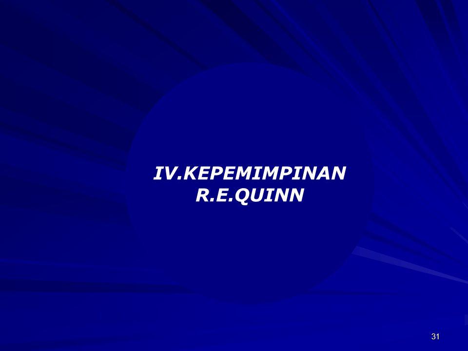 31 IV.KEPEMIMPINAN R.E.QUINN
