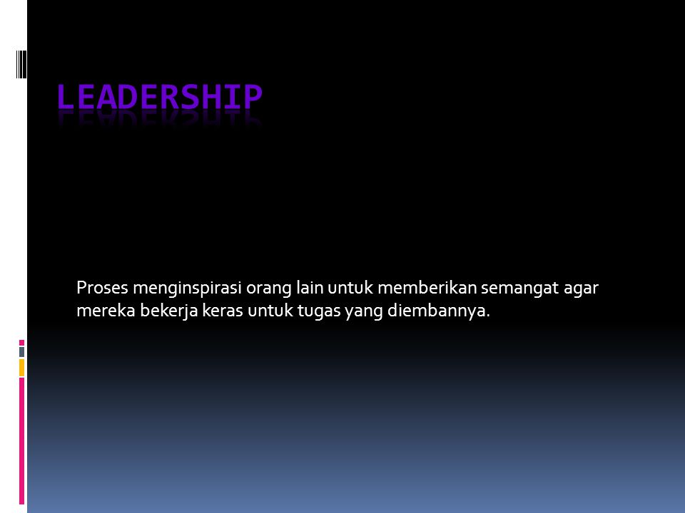 Trends In Leadership Development transformational leadership  Charismatic Leader  Transactional Leader  Transformational Leader  Vision Has ideas and a clear sense of direction  Charisma Uses power of personal reference and emotion  Symbolism Identifies heroes  Empowerment Helps  Interactive Leadership  research largely support the gender similarities hypothesis  research leaves no doubt that both women and men can be effective leaders  research does show is that men and women