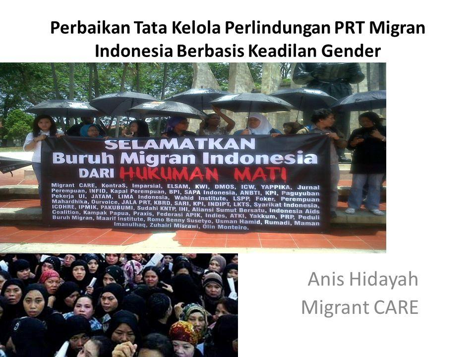 Anis Hidayah Migrant CARE Perbaikan Tata Kelola Perlindungan PRT Migran Indonesia Berbasis Keadilan Gender