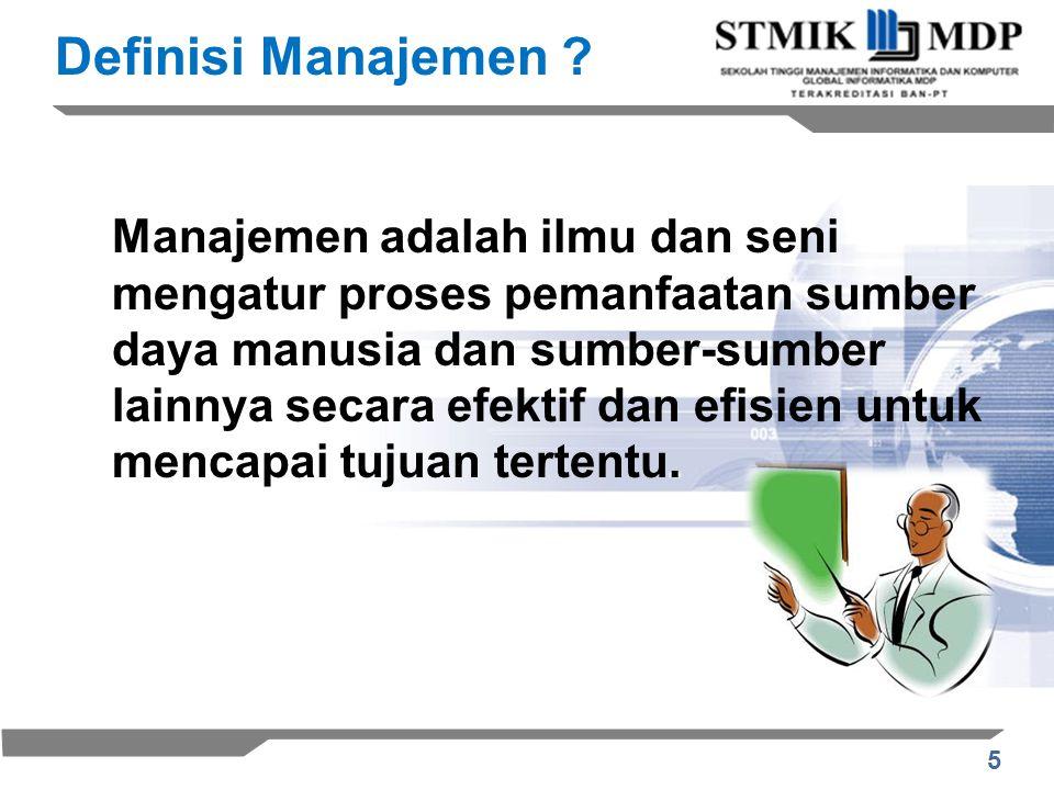 16 Perencanaan (Planning) –Tujuan dan Standar –Peraturan dan Prosedur –Perencanaan dan Peramalan Pengorganisasian (Organizing) –Tugas-tugas –Departemen –Pendelegasian –Wewenang –Koordinasi Proses Manajemen SDM