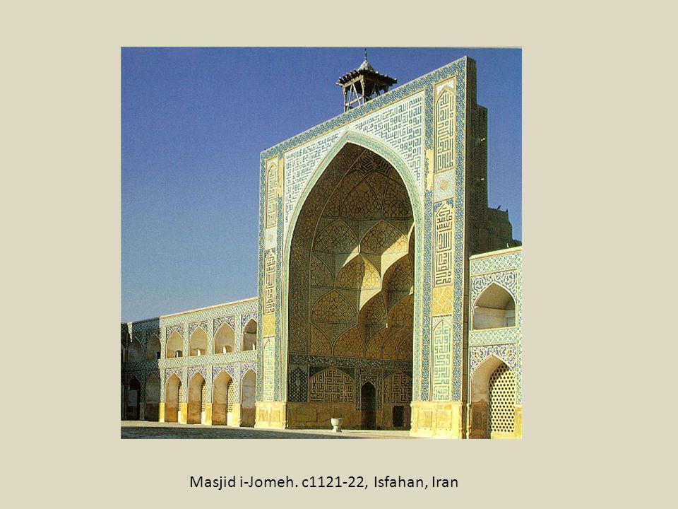 Masjid i-Jomeh. c1121-22, Isfahan, Iran
