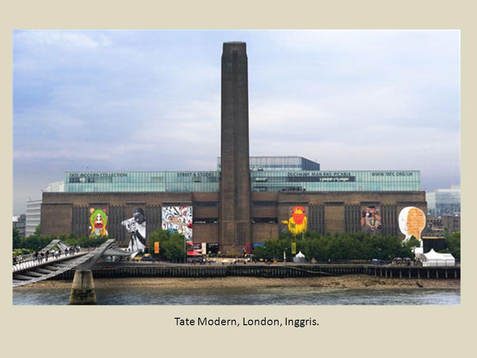 Tate Modern, London, Inggris.