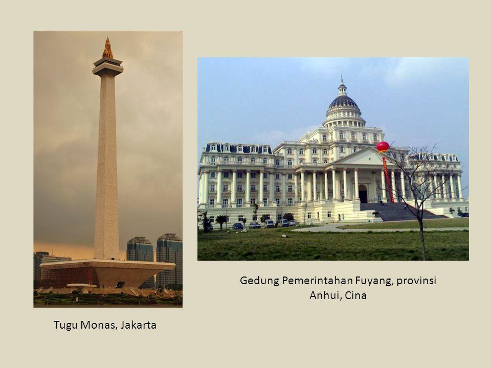 Tugu Monas, Jakarta Gedung Pemerintahan Fuyang, provinsi Anhui, Cina