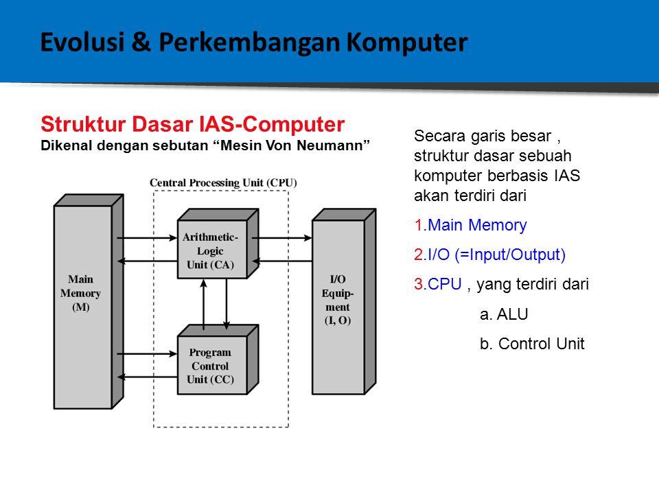 Evolusi & Perkembangan Komputer Evolusi Pentium Dan Power PC: 1.