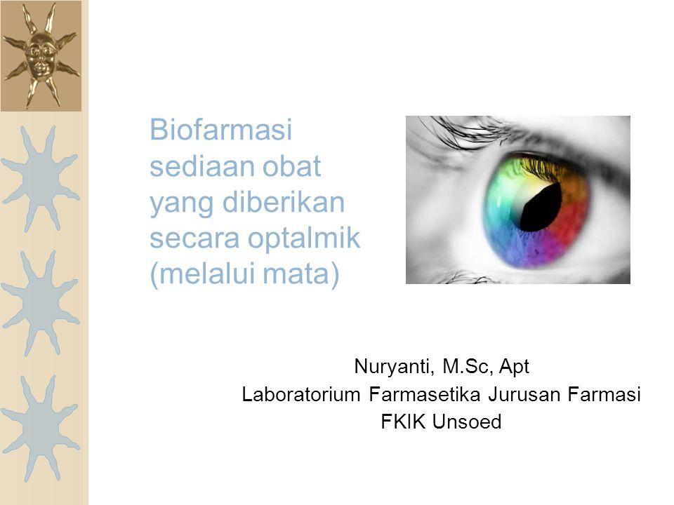 Anatomi dan Fisiologi mata.