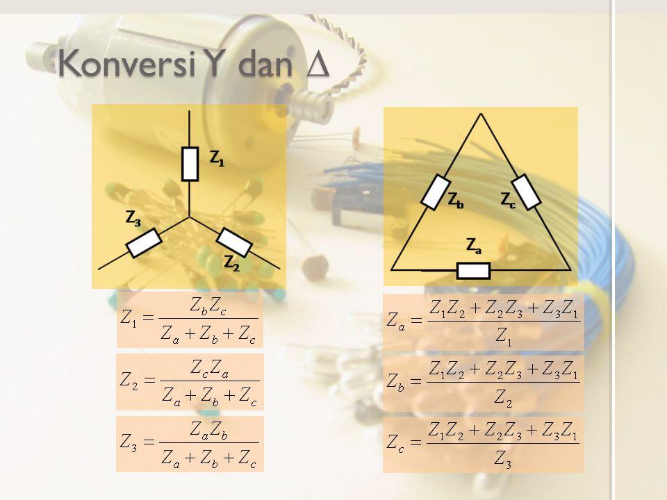 Konversi Y dan 