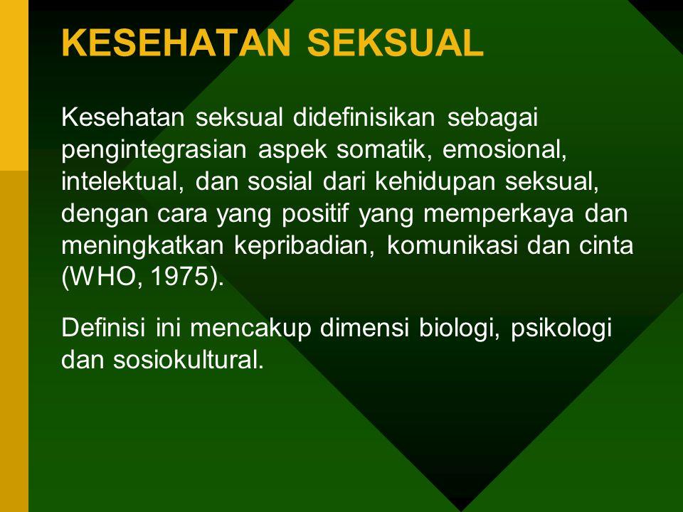 SIKAP SEKSUAL KLIEN Seseorang memiliki sistim nilai seksual yang menentukan mudah atau sulitnya seseorang untuk mengekspresikan masalah seksual dalam lingkungan perawatan kesehatan.