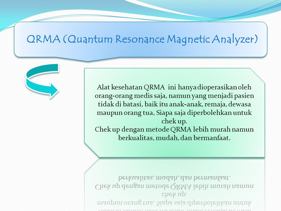 CONTOH CONTOH DARAH DILIHAT DENGAN MICROSCOPE QRMA (Quantum Resonance Magnetic Analyzer)