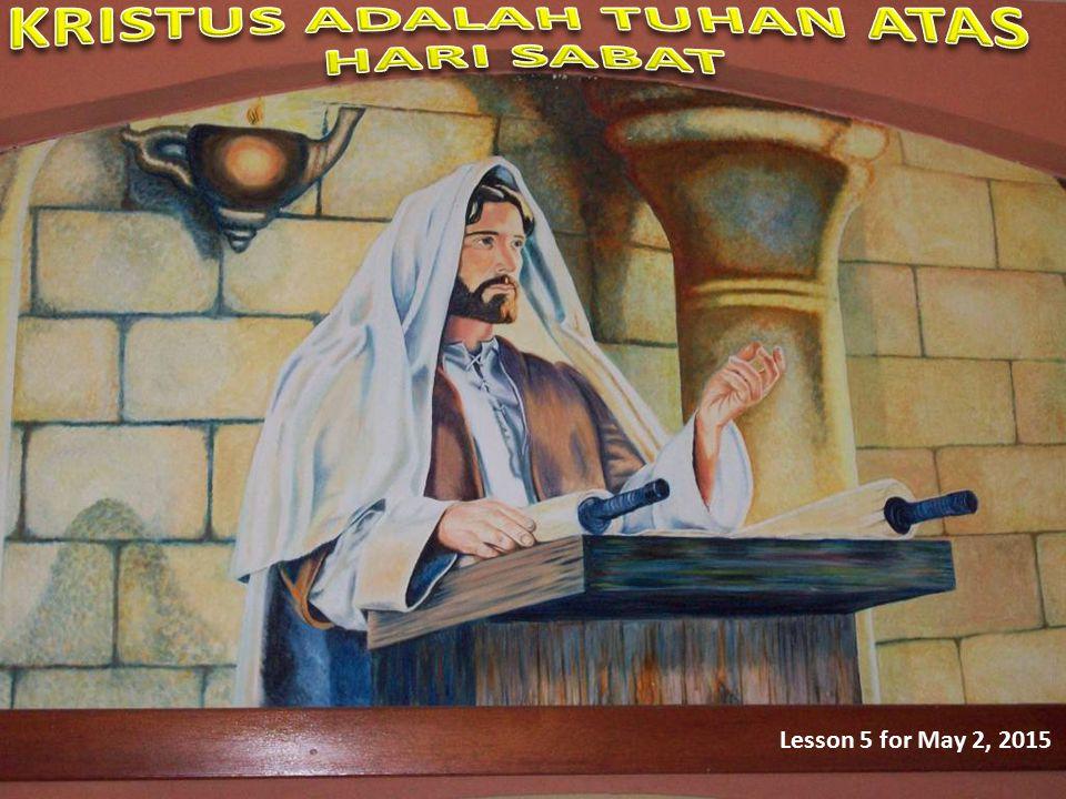 Apa yang Lukas maksudkan ketika ia berbicara tentang pemeliharaan hari Sabat sebagai kebiasaan Yesus.