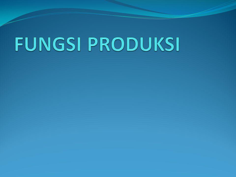 Produktifitas : Konsep penggabungan antara hasil atau output ( barang atau jasa ) dengan sumber input yang digunakan untuk menghasilkan barang dan jasa tersebut.