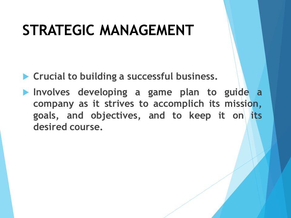 Is Strategic Planning Really that Important.