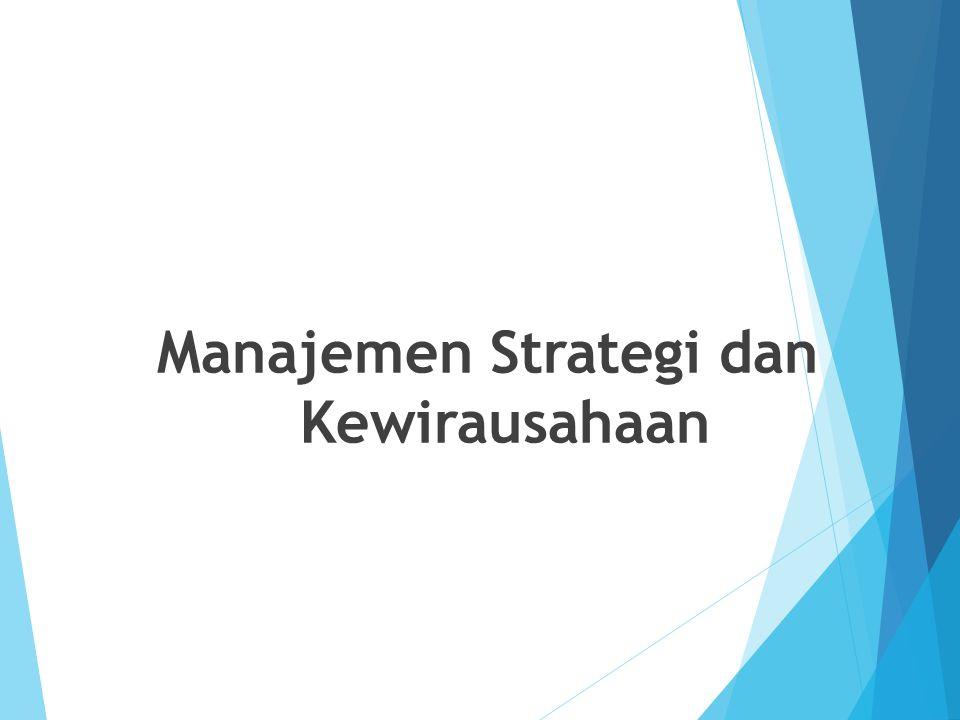 Manajemen Strategi dan Kewirausahaan