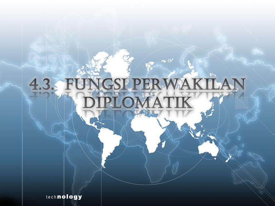 Concept Map Landasan Hukum Tugas Peran Tujuan PERWAKILAN NEGARA RI DI LUAR NEGERI Pengangkatan Tugas Fungsi Perangkat Kekebalan Keistimewaan PERWAKILAN DIPLOMATIK Tugas Fungsi Perbedaan Diplomatik dan Konsuler Mulai dan Berakhirnya Fungsi Diplomatik dan Konsuler PERWAKILAN KONSULER