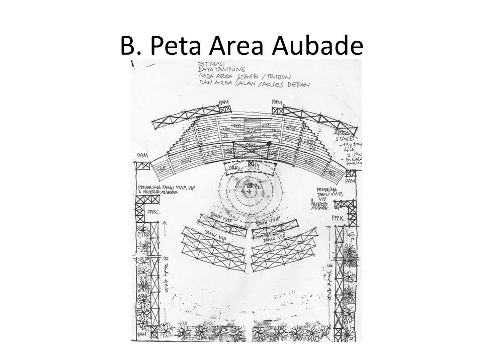 B. Peta Area Aubade