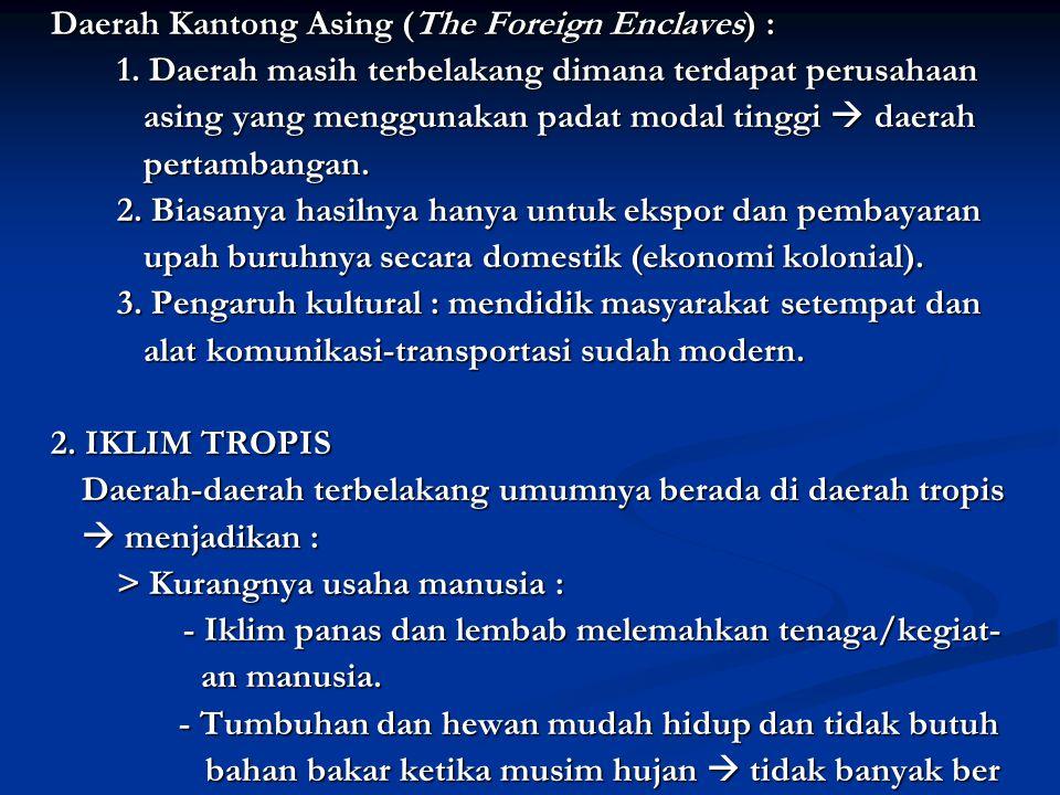 Daerah Kantong Asing (The Foreign Enclaves) : 1.