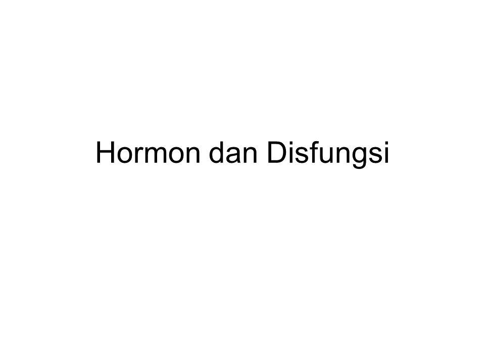 HIPOFUNGSI Hipofungsi dapat disebabkan oleh: Defek kongenital sehingga perkembangan terhenti atau tidak adakelenjarnya atau tidak adanya ensim yang dibutuhkan untuk sintesisnya Destruksi kelenjar dapat seja terjadikarena gangguan aliran darah, infeksi atau inflamasi, respon autoimmuneatau peretumbuhan kanker/tumor; Penuaan, membuat endokrin defisien atau reseptornya tidak ada, kerusakan pada pengikat hormon, gangguan respon seluler ; Hormon inaktif: beberapa kelenjar menghasilkan hormon biologik inaktif, atau hormon aktif dirusak oleh sirkulasi antibodi sebelum mereka melakukan tugasnya