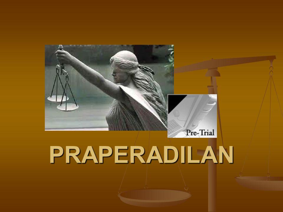 Putusan Praperadilan an.Budi Gunawan. 1. Penetapan Tersangka, KPK tidak berwenang memutuskan 2.