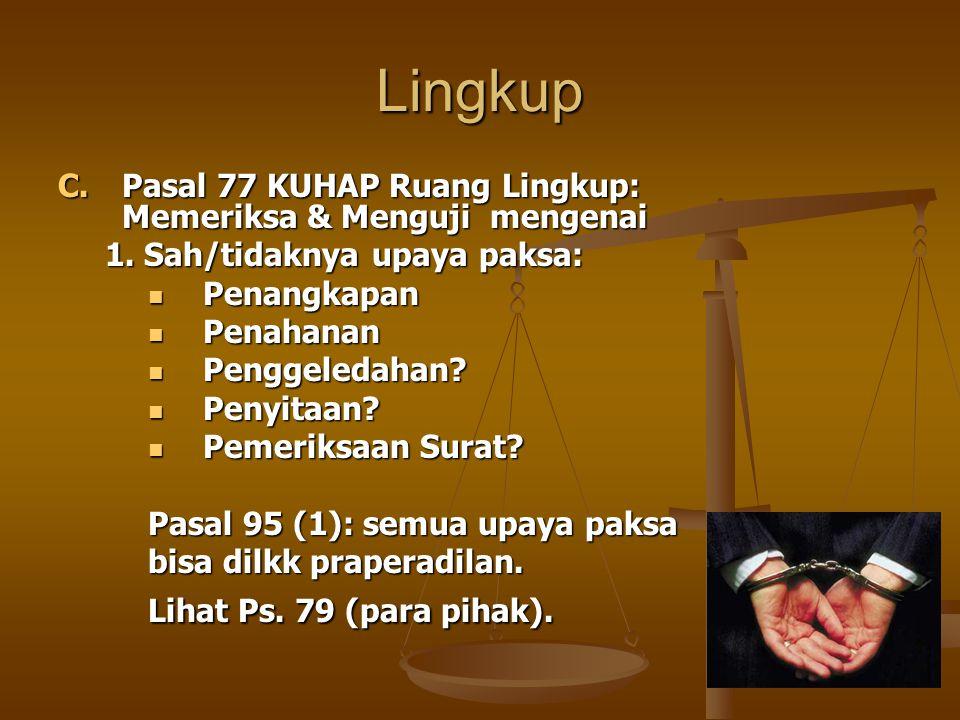 Upaya Hukum Luar Biasa: 2.