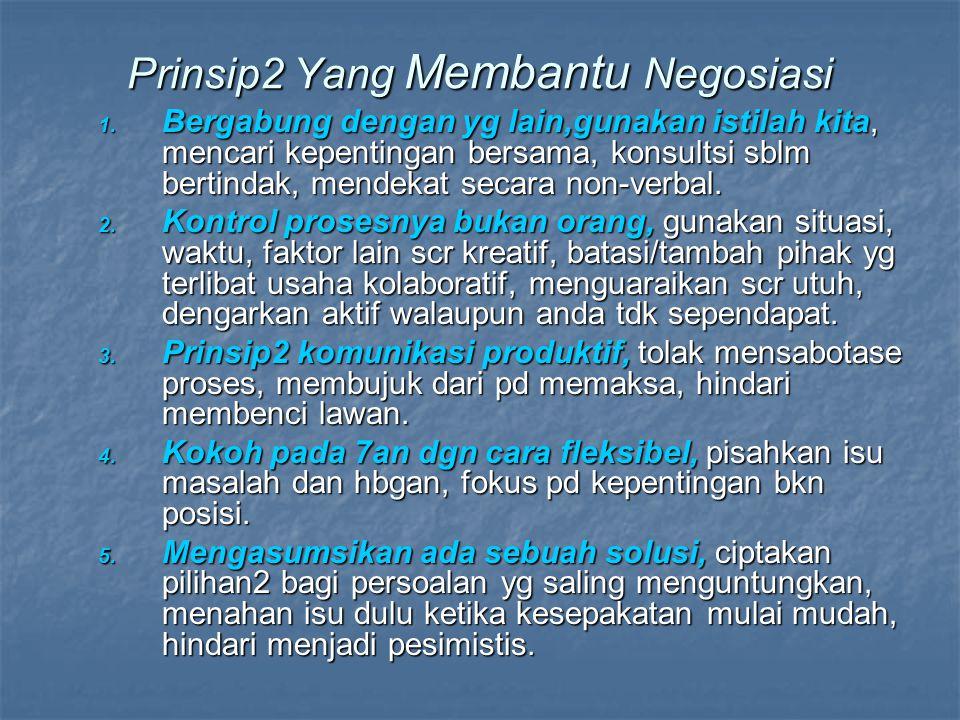 Prinsip2 Yang Membantu Negosiasi 1.