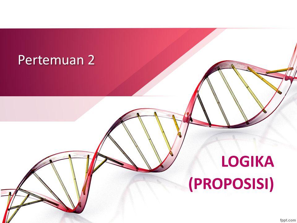 Proposisi Bersyarat (Implikasi) Misalkan p dan q adalah proposisi.