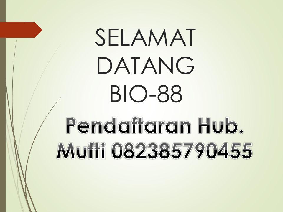 SELAMAT DATANG BIO-88