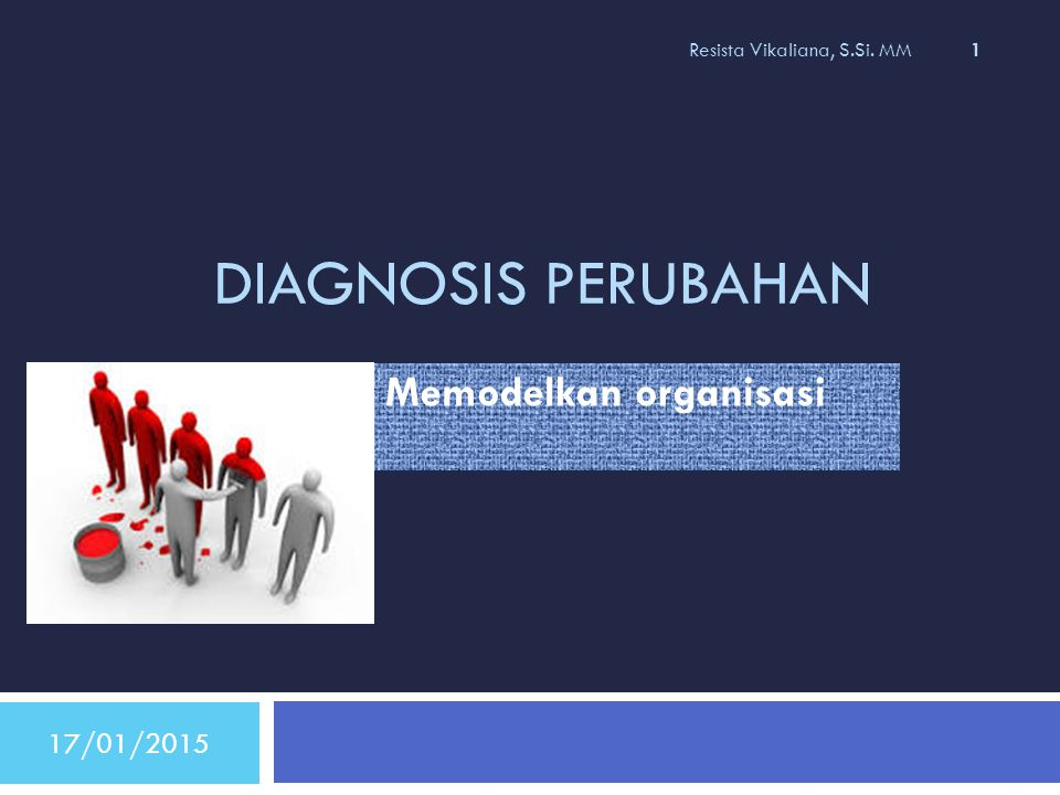 MODEL DIAGNOSIS BY IMAGE /gareth morgan 17/01/2015 Resista Vikaliana, S.Si.