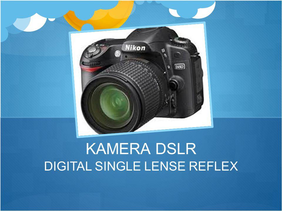 DIGITAL SINGLE LENSE REFLEX KAMERA DSLR