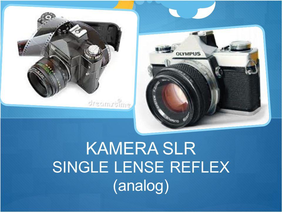 SINGLE LENSE REFLEX (analog) KAMERA SLR