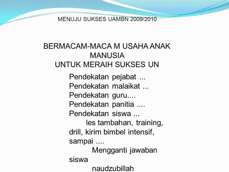 ddtk uasbn 201057 JENIS STIMULUS DAPAT MENGGUNAKAN TAKSONOMI SOLO (THE STRUCTURED OF OBSERVED LEARNING OUTCOME) ATAU STRUKTUR HASIL BELAJAR YANG DAPAT DIAMATI JENISNYA: 1.
