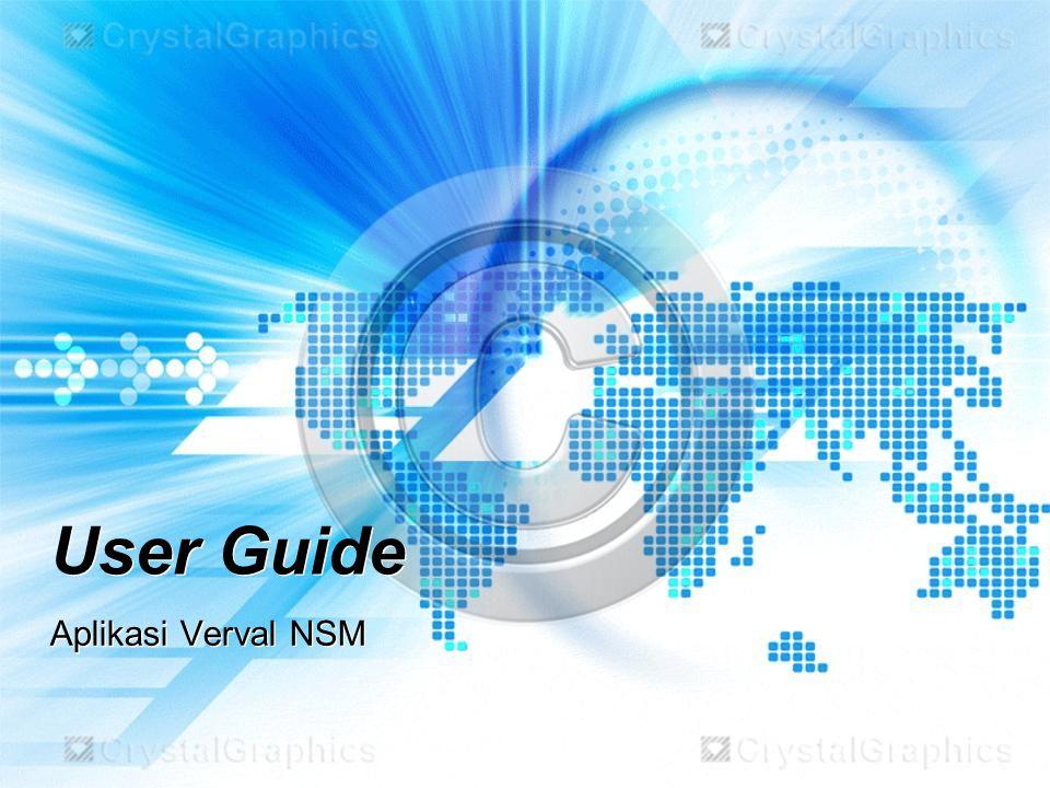 Lihat hasil Backup, perhatikan gambar sbb : File Backup tersimpan di alamat sbb: …/Aplikasi NSM/Backup/.