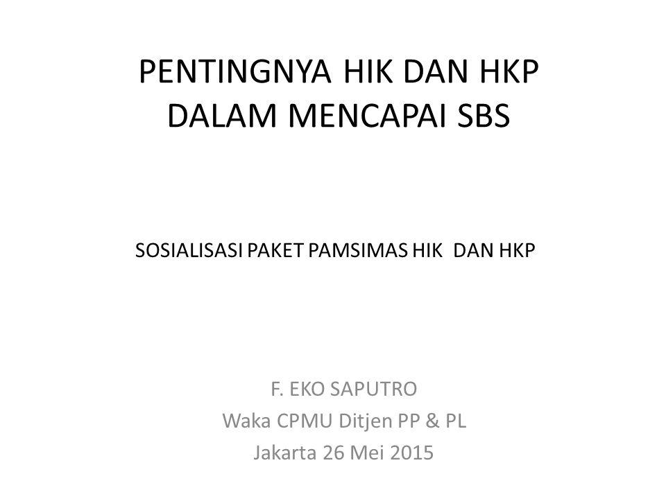 PENTINGNYA HIK DAN HKP DALAM MENCAPAI SBS F.