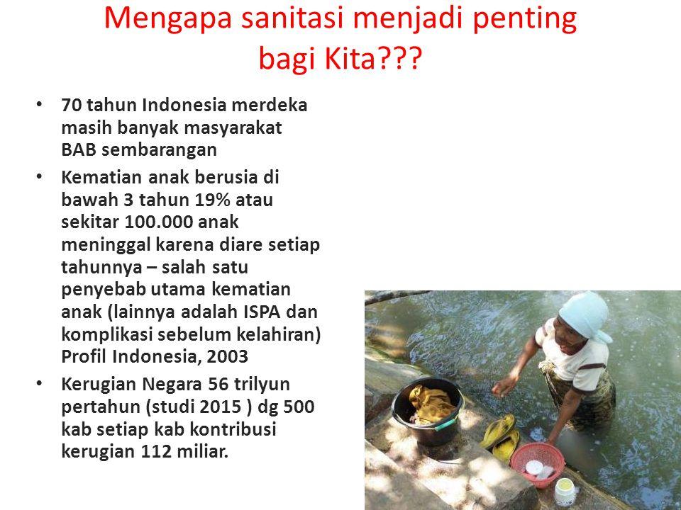 Strategi STBM Skala Kabupaten dalam PAMSIMAS II Peningkatan Kebutuhan dan Permintaan Sanitasi melalui CLTS terutama untuk SBS dan CTPS, setelah itu di