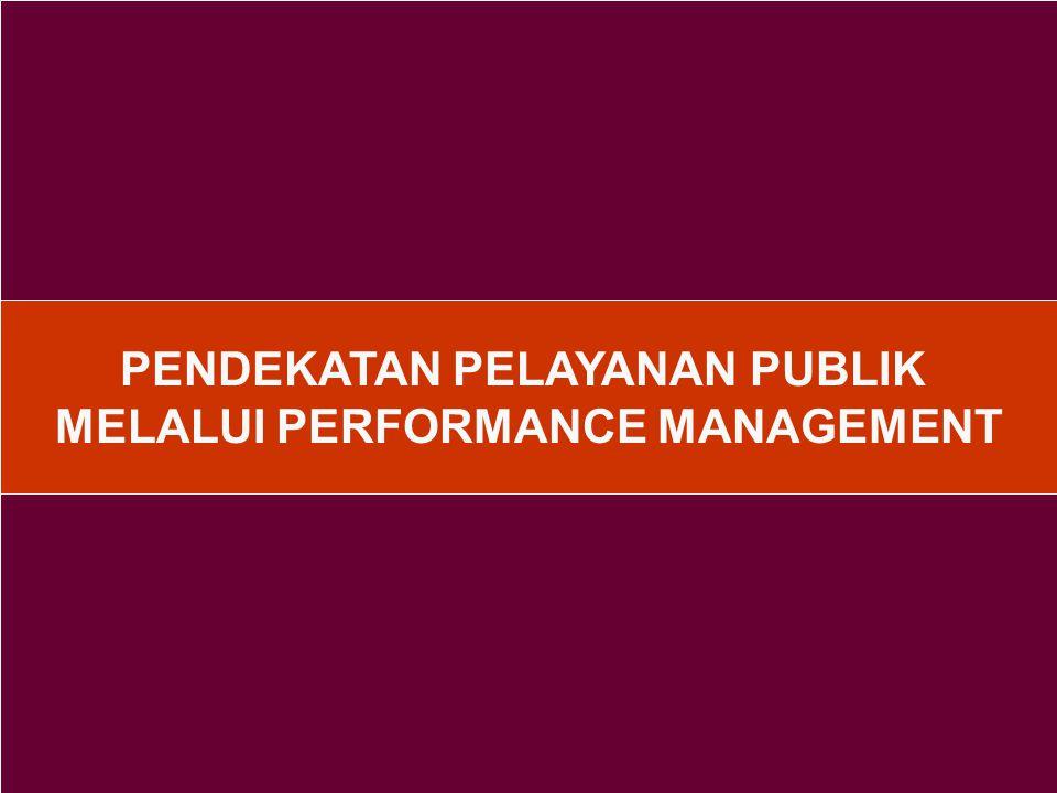 Beberapa esensi dalam penyelenggaraan pelayanan publik yang perlu selalu disadari 1.