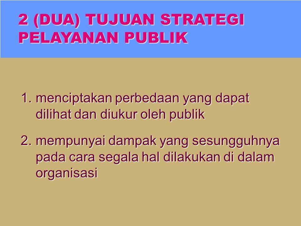 STRATEGI PELAYANAN adalah bagian sentral strategi upaya organisasi yang juga meliputi tujuan, manfaat, pasar, teknologi dan sebagainya