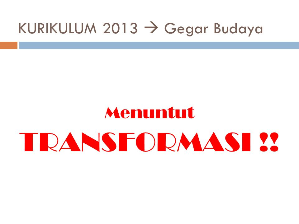 DASAR PERTIMBANGAN AKTIF BELAJAR Kurikulum 2013 TEORI BELAJAR
